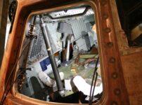 Peering inside NASA's Apollo 10 Command Module