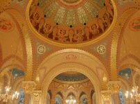 GASP at the splendour of St Christopher's Chapel inside GOSH