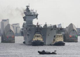 A look around HMS Ocean at Greenwich