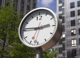 See London's Six Swiss Railway Clocks
