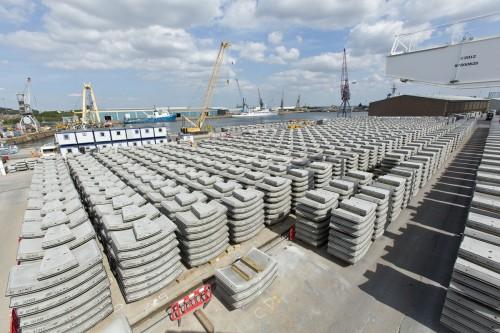 Chatham Dockyard Concrete Segments_103746