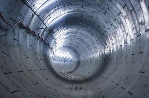 Crossrail running tunnel near Woolwich_127802