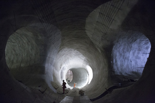 1 Bond Street platform tunnels _161017