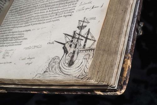 Cicero - Opera omnia, vol. 2, ship drawing - copyright RCP and John Chase