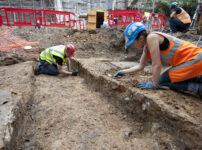 Roman Fresco Discovered next to Leadenhall Market