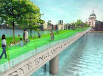 Unbuilt London: A Garden Bridge across the Thames