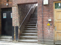 London Alleys – Essex Street Steps