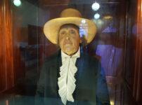 Jeremy Bentham's mummified head goes on public display