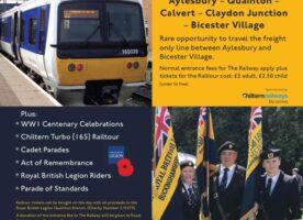 Tickets Alert: Rare railway tour planned