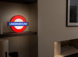Glow in the dark tube roundels go on sale
