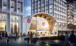 Progress on Colindale tube station rebuild