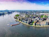 Construction starts on London's longest river pier