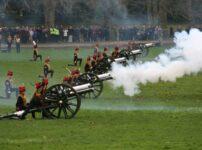 London's ceremonial gun salutes during 2021