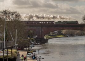 Regular steam trains service returns to Waterloo Station