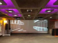 Odd video art in the Barbican