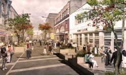Trial pedestrianisation of Camden High Street