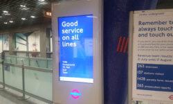 London Underground tests new design information boards