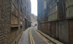 London's Alleys: Crescent Row, EC1