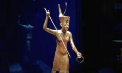 Tutankhamun exhibition goes (slightly) online