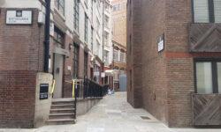 London's Alleys: Half Moon Court, EC1