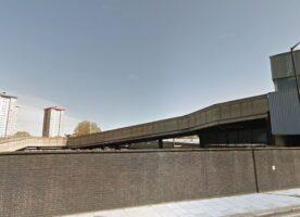 Euston station's 1960s parcel ramp demolished for HS2