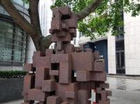Public Street Art: Antony Gormley's Resolution