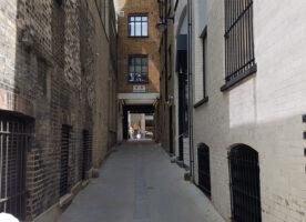 London's Alleys: Bloomfield Place, W1