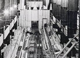"The year a ""railway"" ran inside Westminster Abbey"
