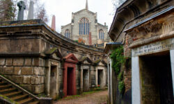 Take a winter wander through Highgate Cemetery