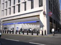 Design for Bank tube station entrance for approval