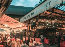 Borough Market offering evening dining inside the Victorian market