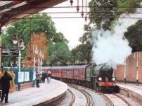 Regular steam train trips between London and Windsor resume