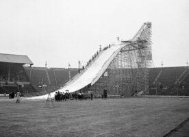 60th anniversary of Wembley Stadium's ski jump