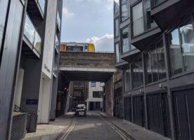 London's Alleys: Dereham Place, EC2