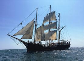 Tall sailing ship visiting London next week