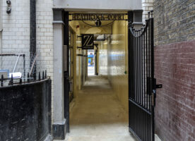 London's Alleys: Heathcock Court, WC2