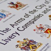 Arms of the City of London and its Livery Companies