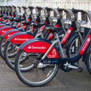 Free use of Santander cycle hire bikes today