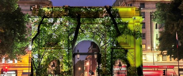 Marble Arch projections