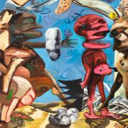 Dana Schutz - Shadow of a Cloud Moving Slowly
