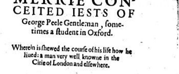 James and George Peele -Elizabethan Pageant Poets for the City