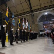 Commemoration of Unknown Warrior at Victoria Station