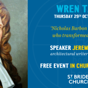 Wren Talk: Jeremy Melvin discusses Nicholas Barbon, the man who transformed London