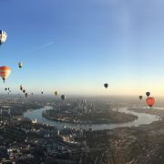 Hot air balloons to fly over central London