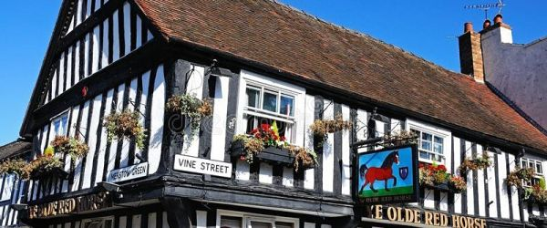 Medieval buildings myths - This inn is made from shipwreck timbers!