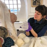 Hats, Bonnets & Veils: Embroidered Millinery