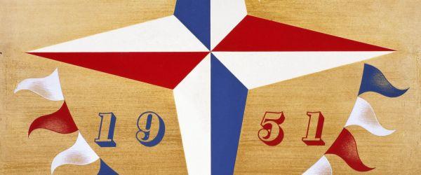 Abram Games and his 1951 Festival of Britain symbol