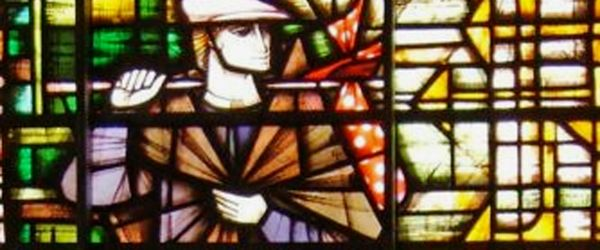 Modern Stained Glass in the City of London