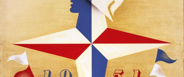 Abram Games and His Festival of Britain Symbol - 70th Anniversary