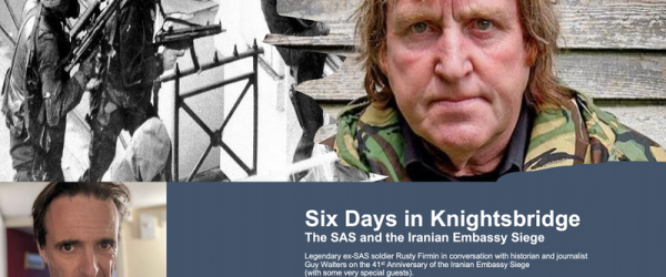 Six Days in Knightsbridge – the SAS and the Iranian Embassy Siege